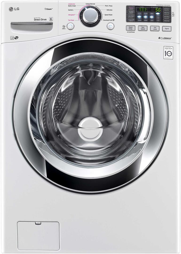 Lg Wm3370hwa 27 Inch 4 3 Cu Ft Front Load Washer In