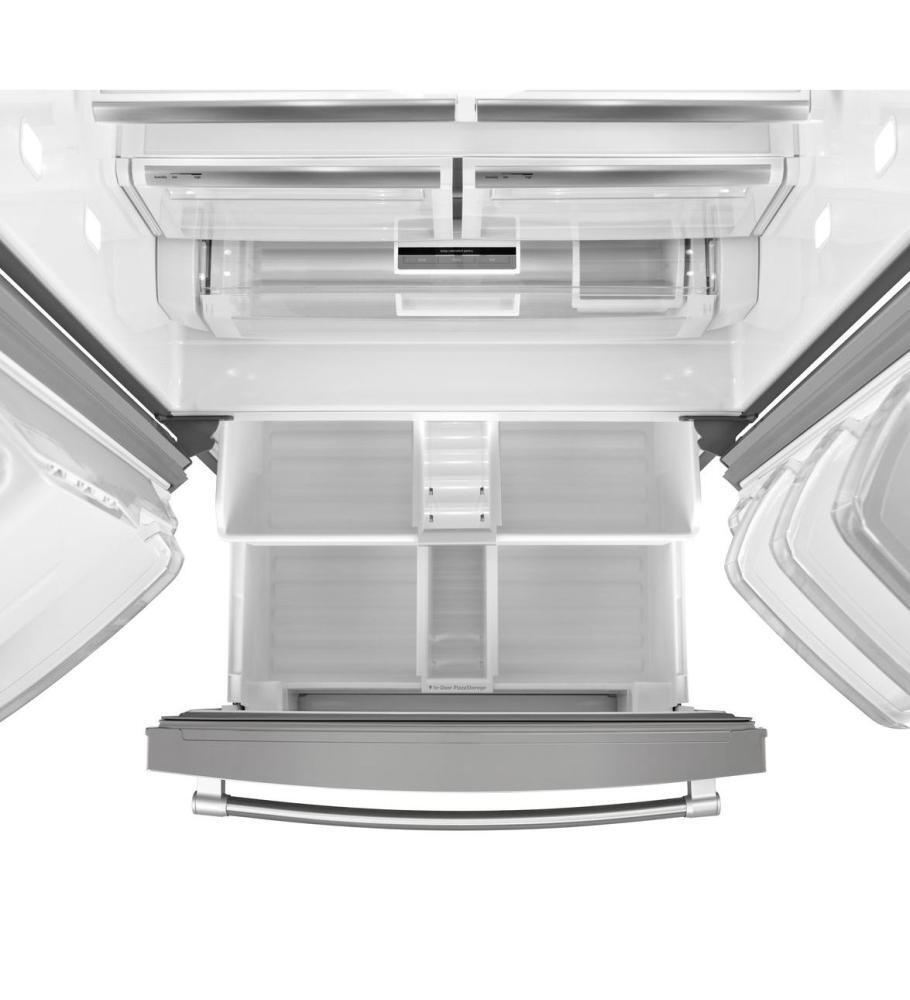 Maytag MFT2776DEM 36 Inch French Door Refrigerator with 26.8 cu ...