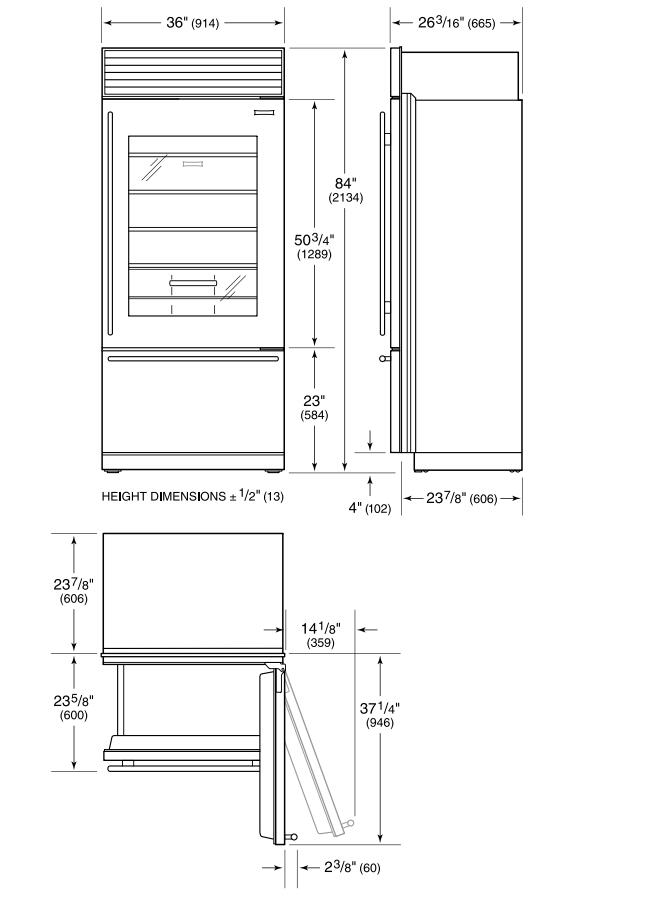 sub zero refrigerator parts diagram html
