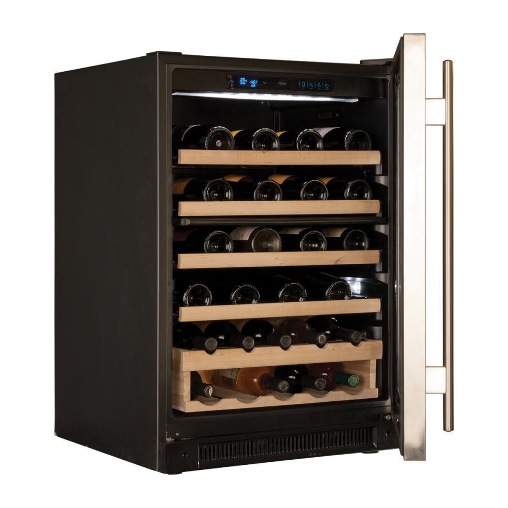 haier wc200gs inch built in wine cooler appliances. Black Bedroom Furniture Sets. Home Design Ideas