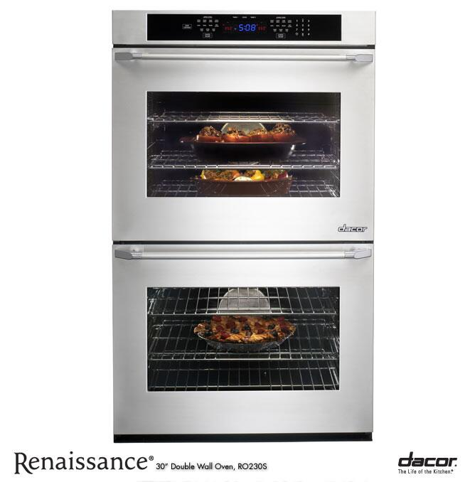 Dacor Ro230fs 30 Inch Double Wall Oven In Stainless
