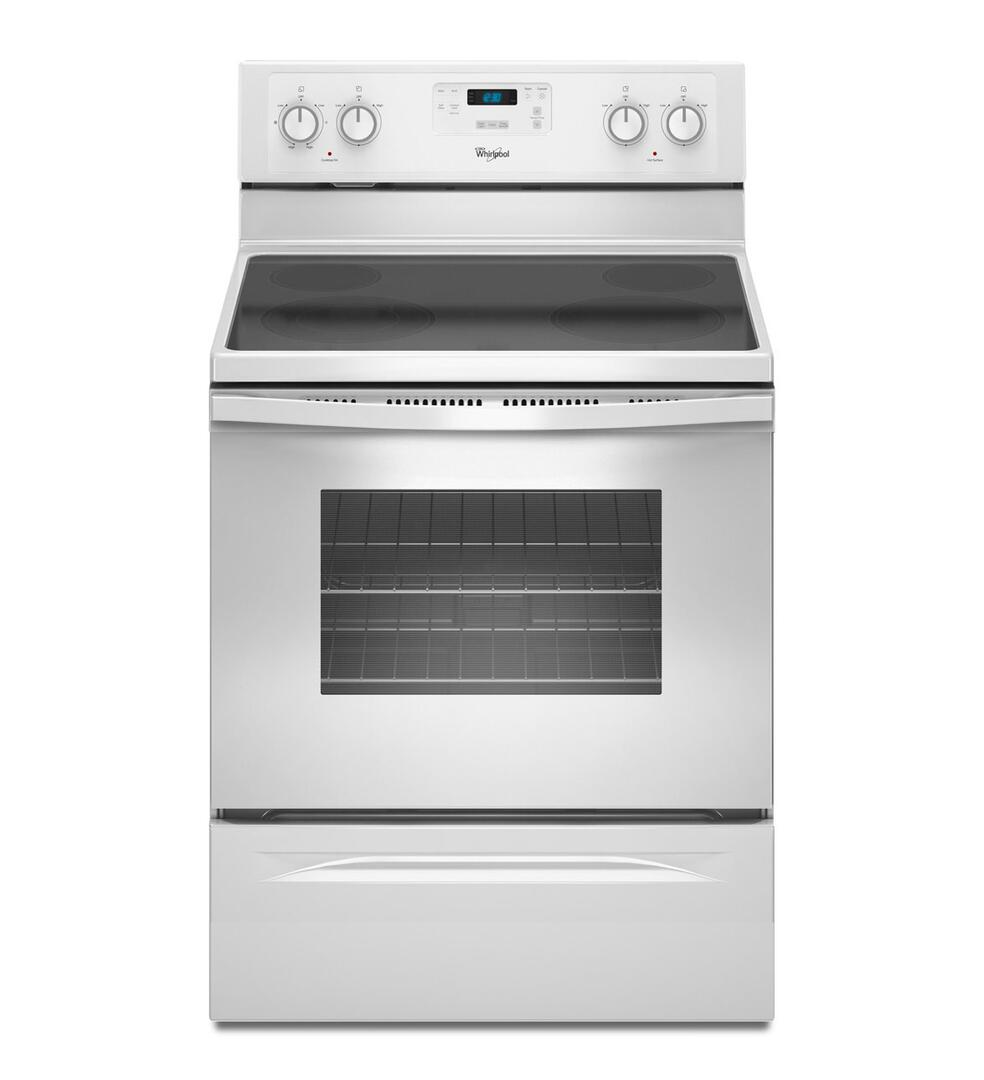 Whirlpool Wfe510s0as Electric Freestanding Range With