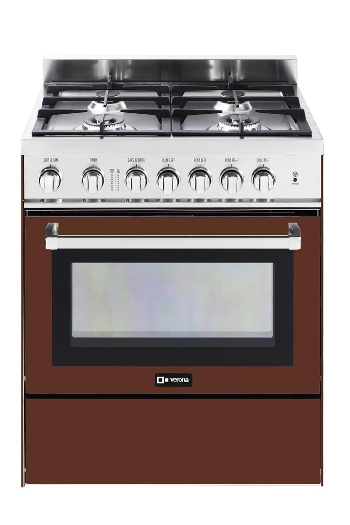 Verona vefsgg304bu 30 inch gas freestanding range with 3 0 for Best slide in gas range under 2000