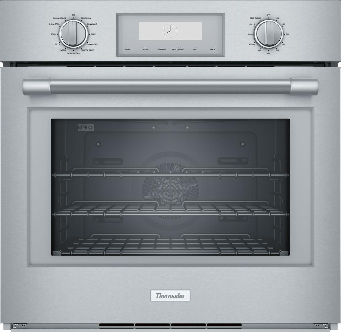 Thermador PO301W 30 Inch Smart Stainless Steel Single Wall Oven ...