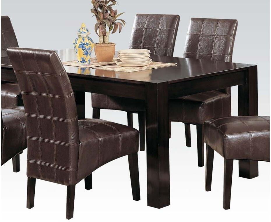Acme Furniture 00798ch Roxana Dining Room Sets Appliances Connection