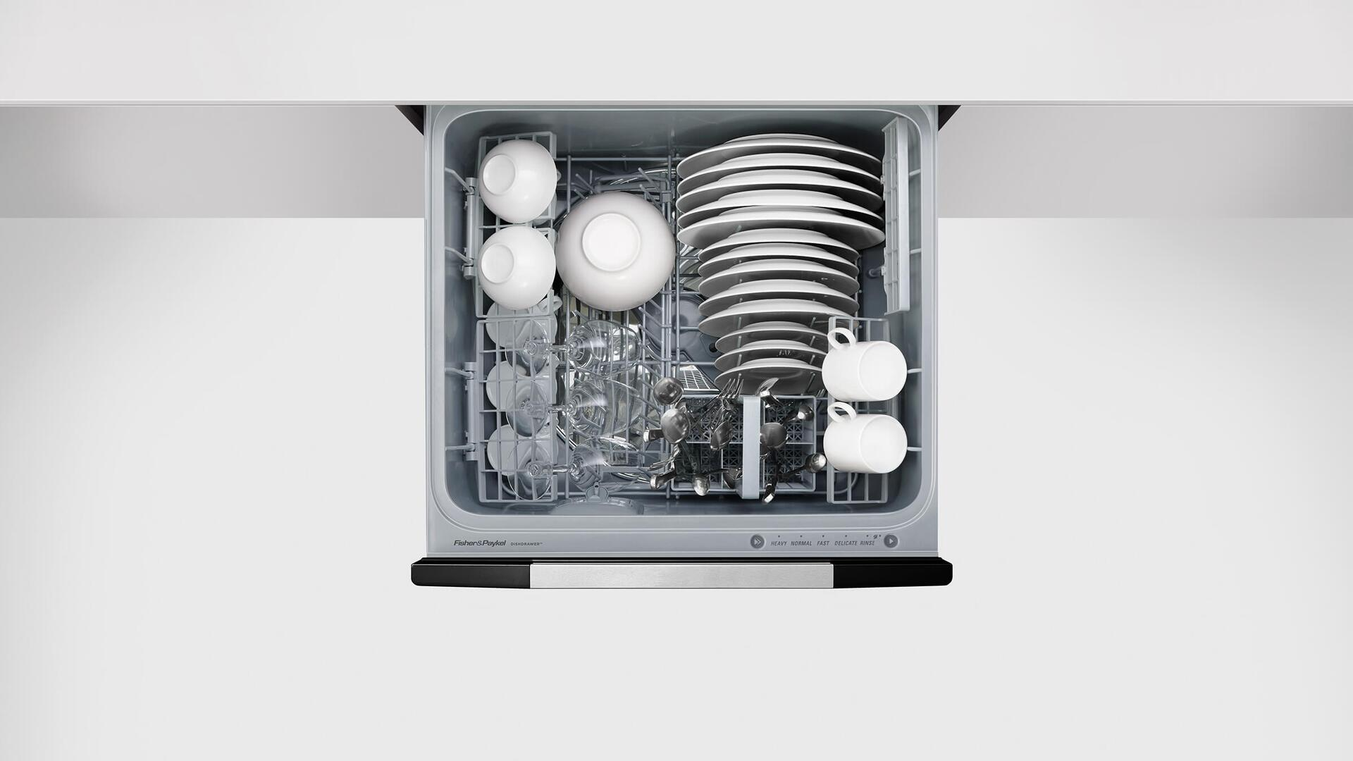 fisher paykel double drawer dishwasher installation instructions