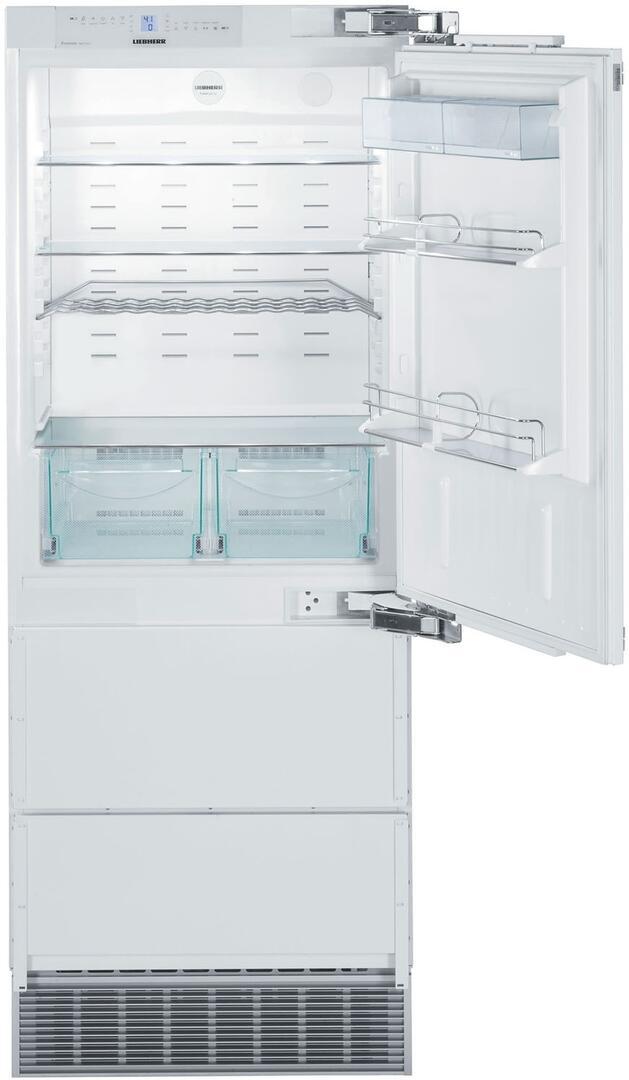 Liebherr HC1550 30 Inch Counter Depth Bottom Freezer Refrigerator