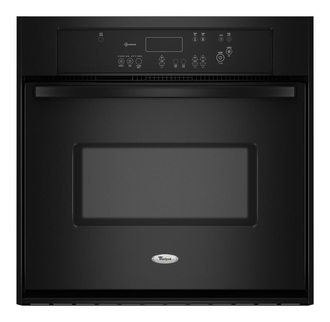 Whirlpool RBS307PVB Single Wall Oven , In Black