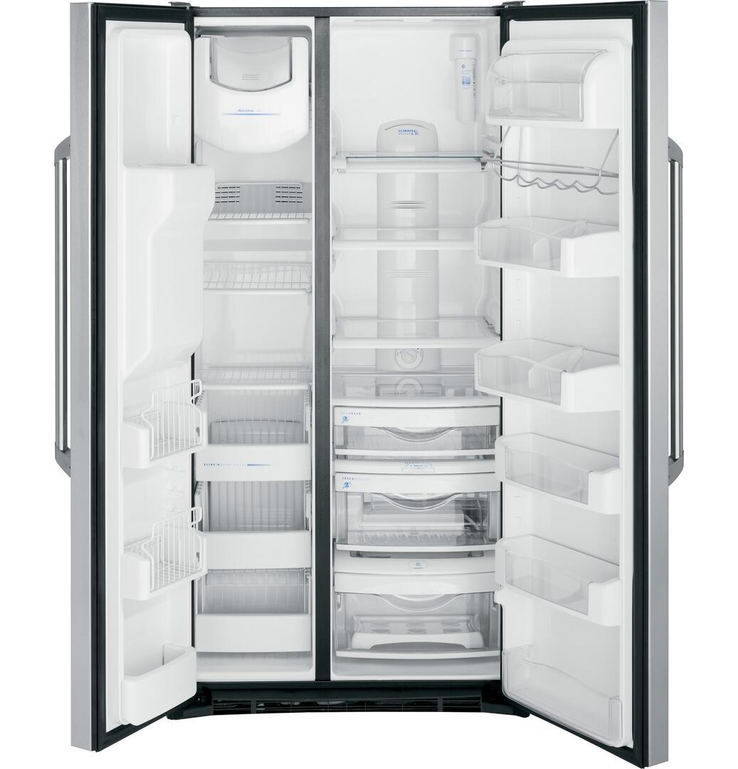 Ge Gse22eshss 34 Inch Side By Side Refrigerator With 21 84