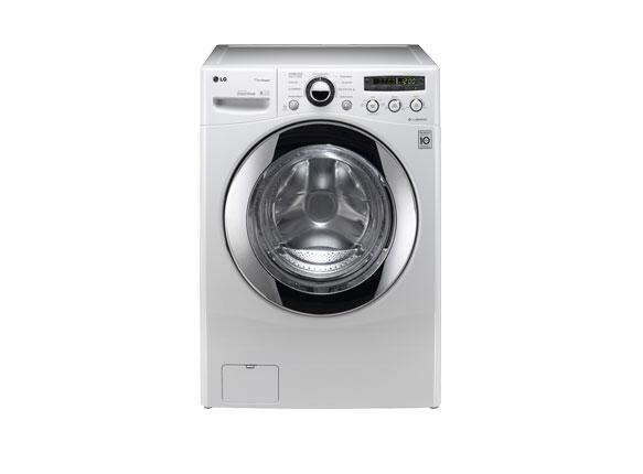 LG WM2550HWCA Steamwasher Series 3.7 cu. ft. Front Load Washer, in White   Appliances Connection