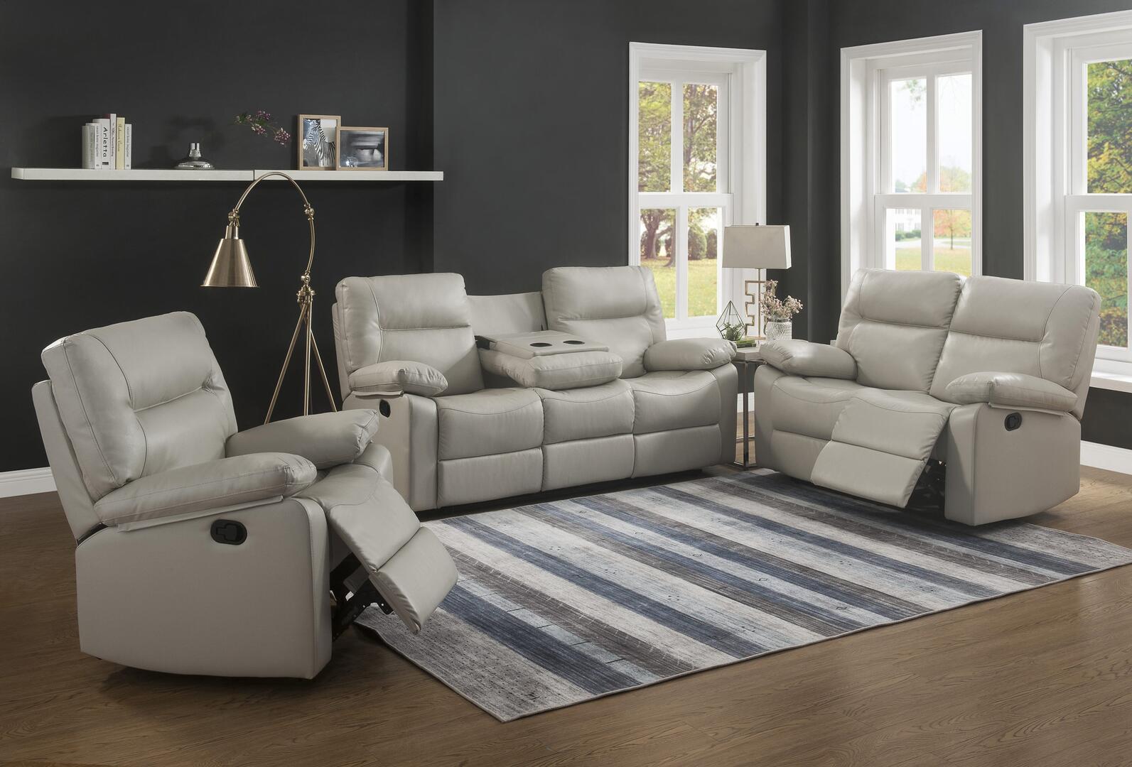Myco Furniture 2050SLCIV Kenzie Living Room Sets | Appliances Connection