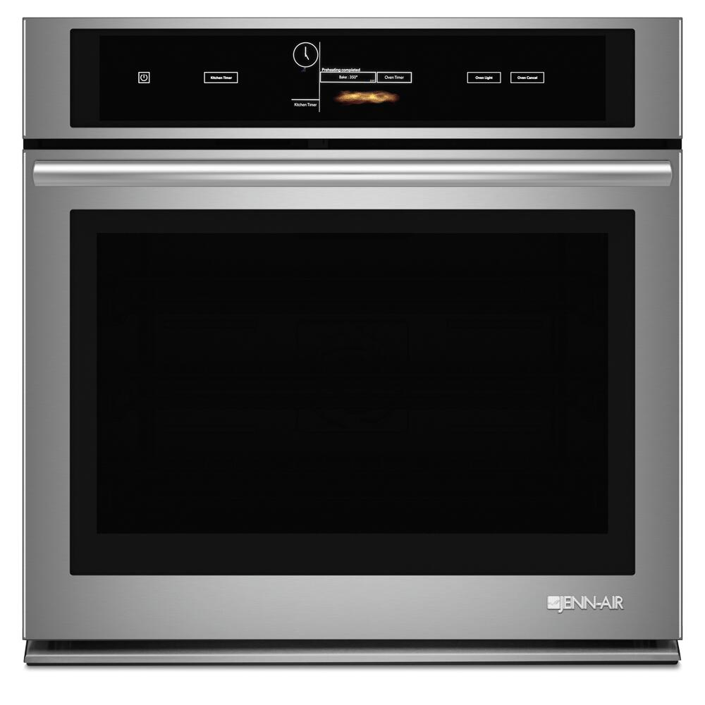 Jenn Air Kitchen Appliance Packages: Jenn-Air JJW3430DS 30 Inch Single Wall Oven , In Stainless