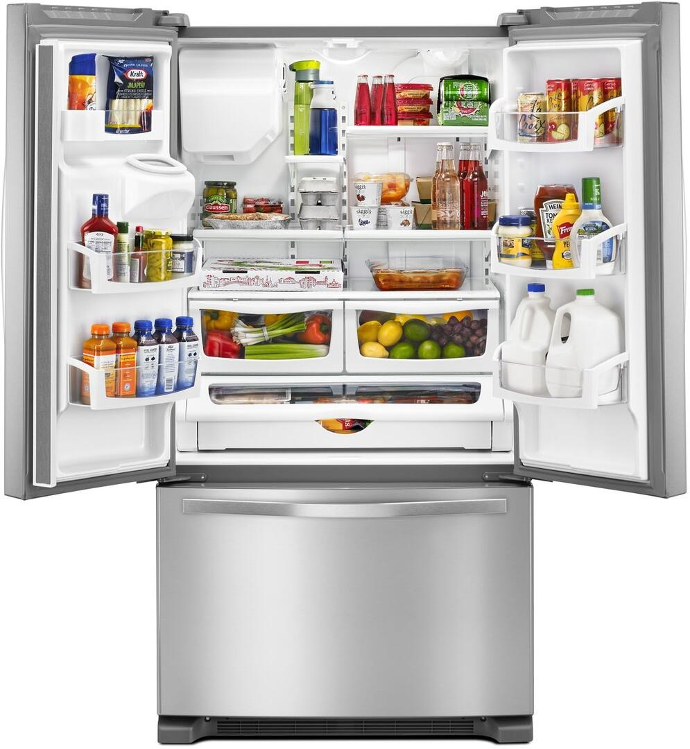7 Best Online Interior Design Services: Whirlpool WRF555SDFZ 36 Inch French Door Refrigerator With
