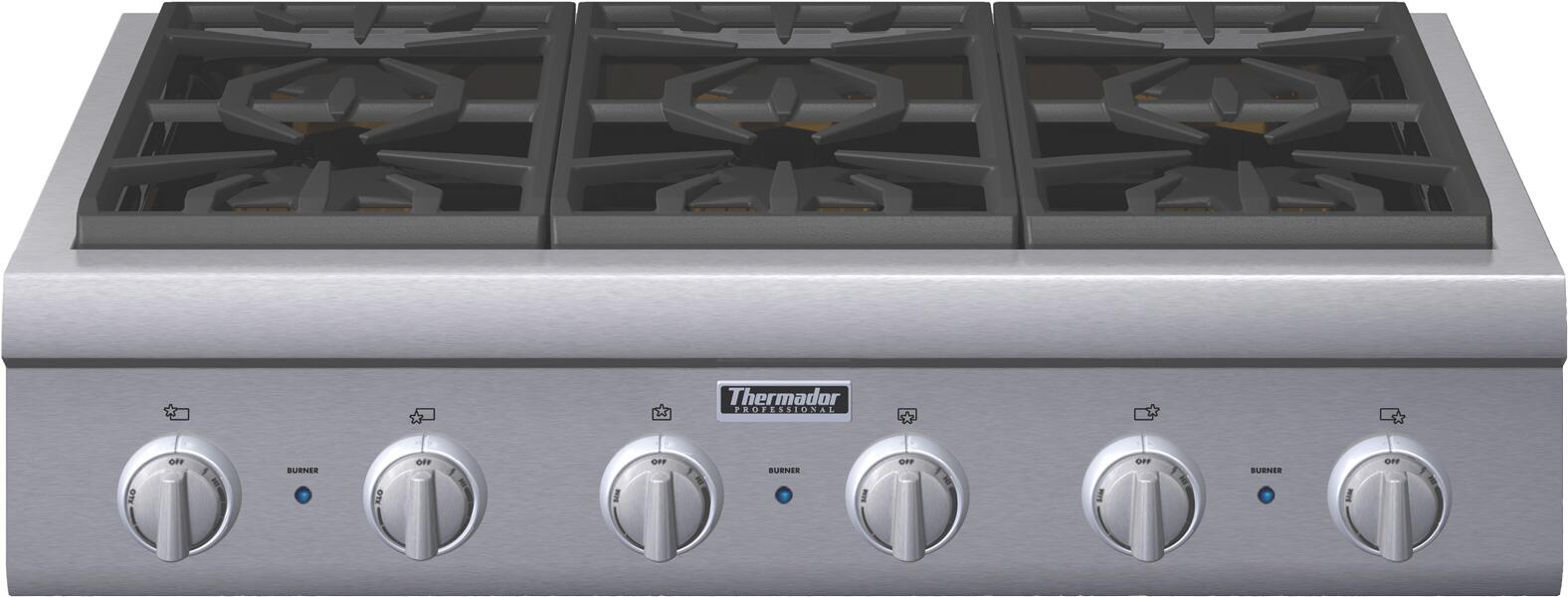 Thermador Pcg366g 36 Inch Professional Series Stainless