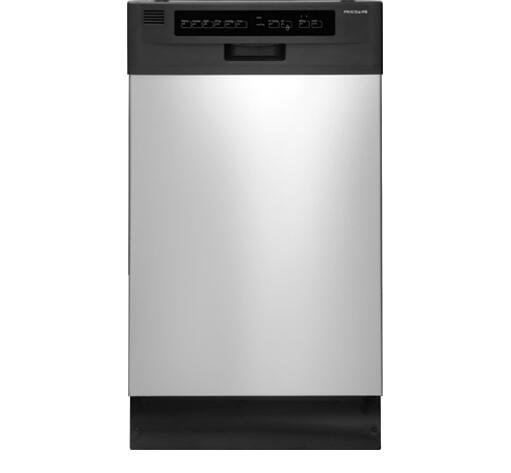 frigidaire ffbd1821ms 18 inch 1800 series stainless steel built in full console dishwasher with. Black Bedroom Furniture Sets. Home Design Ideas