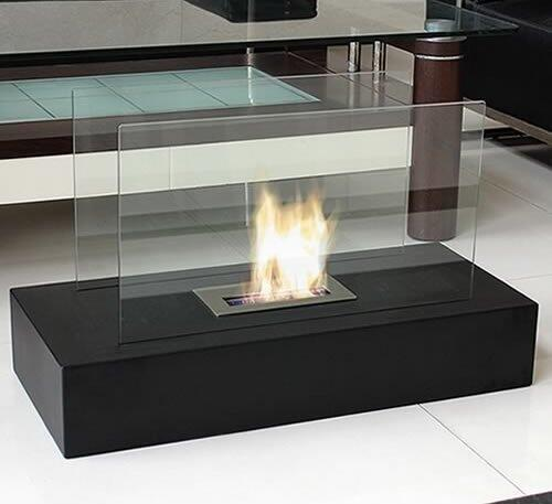 Nu flame nff3fie vent free bioethanol fireplace for Denatured ethanol fireplace