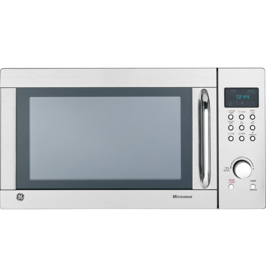 GE JES1344SK Countertop Microwave, in Stainless Steel | Appliances ...