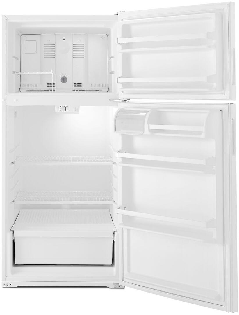 Amana Art104tfdw 28 Inch White Refrigerator With 14 3 Cu