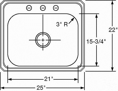Elkay Dcr2522101 Kitchen Sink Appliances Connection