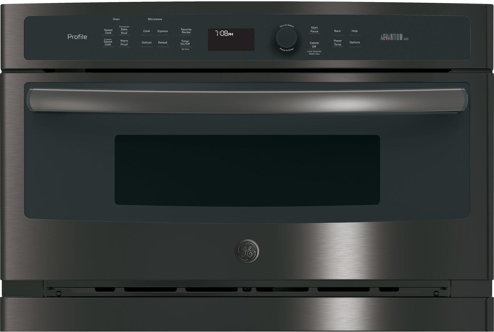 Ge Profile Psb9100blts 27 Inch Black Stainless Steel Oven