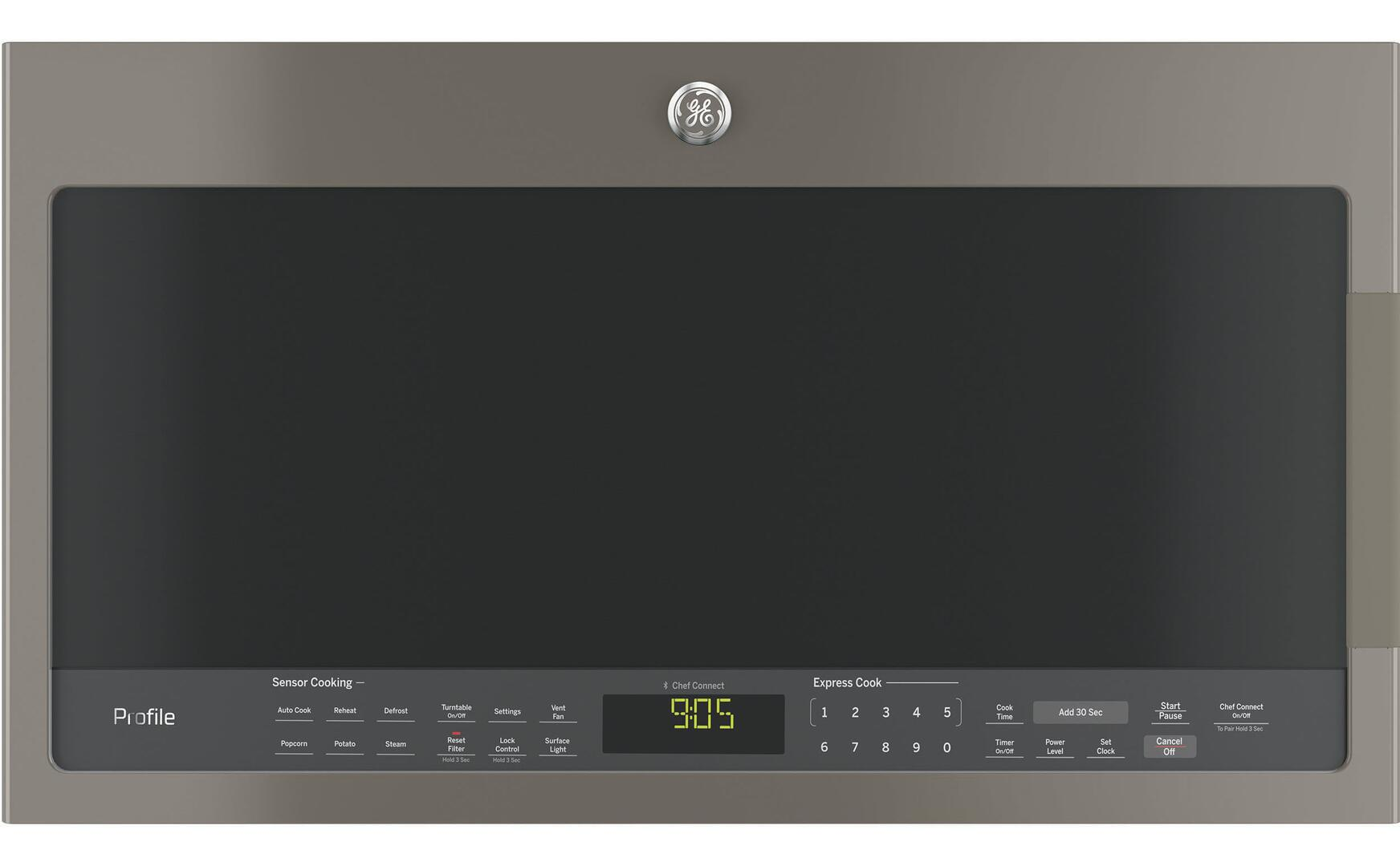 Ge Profile Pvm9005sjss 2 1 Cu Ft Stainless Steel Over