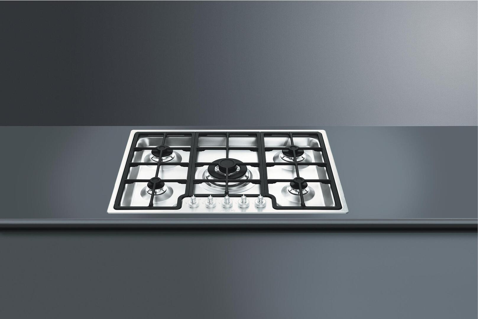 how to clean smeg stainless steel cooktop