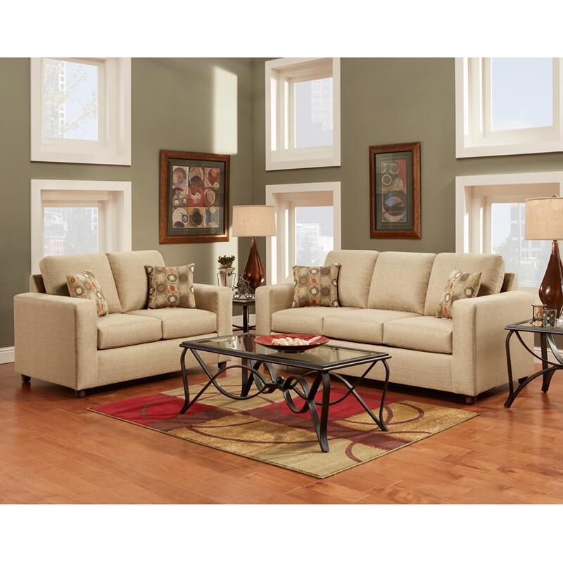 Flash Furniture 3600vividbeigesetgg Living Room Set