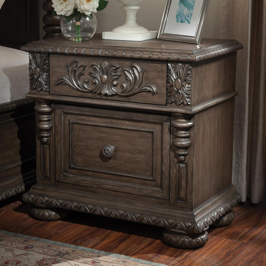 dresser and nightstand set klaussner 980ckpbdmn versailles california king bedroom 15200