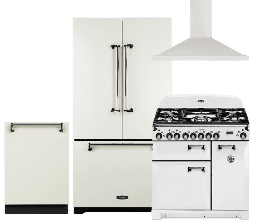 Complete Kitchen Cabinet Packages: AGA 662818 Legacy Kitchen Appliance Packages