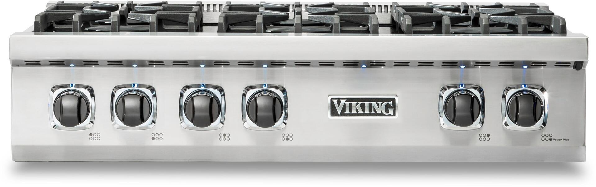viking vrt5366bss 36 inch professional 5 series stainless steel gas rh appliancesconnection com Professional Stoves for Home Use viking professional stove parts