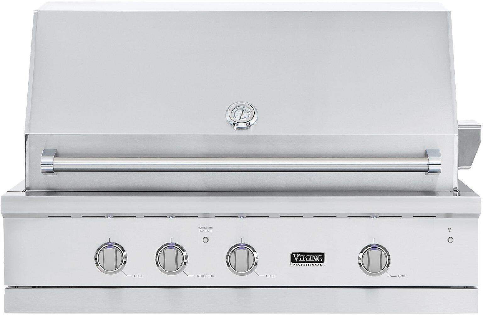 Viking vgiq542241lss 42 inch built in grill in stainless for Viking built in grill