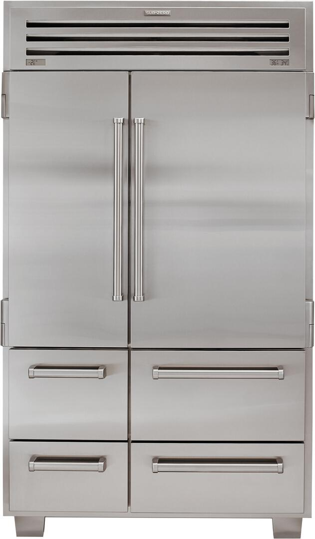Sub Zero 648pro 48 Inch Side By Side Refrigerator With 30
