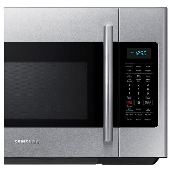 Samsung Me18h704sfs 1 8 Cu Ft Stainless Steel Over The