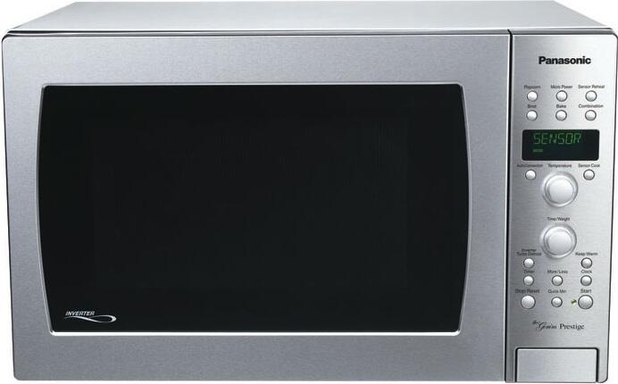 Panasonic Nncd989s Stainless Steel 1 5 Ft Capacity Countertop Microwave