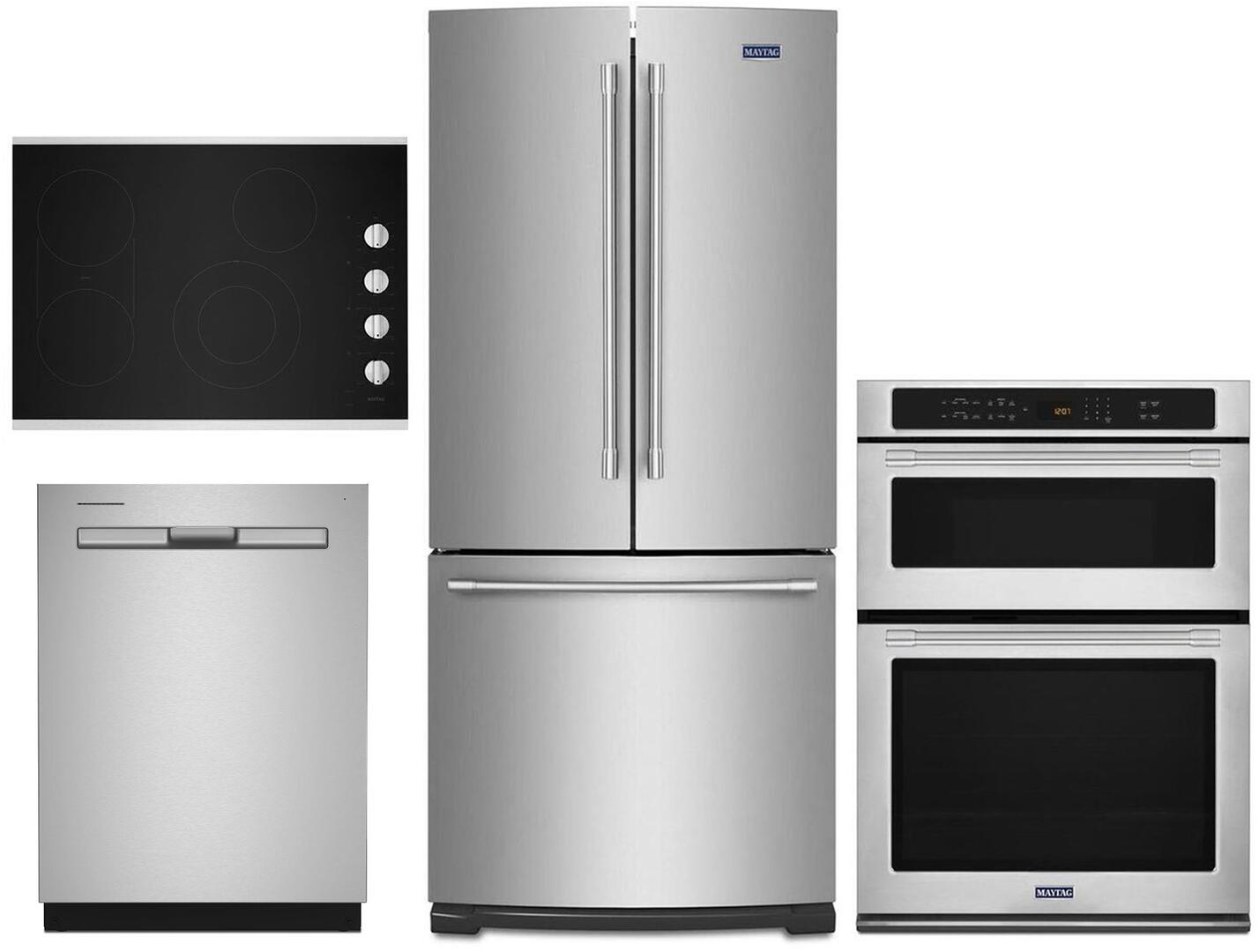 Maytag Stainless Steel Kitchen Appliance Package Dandk