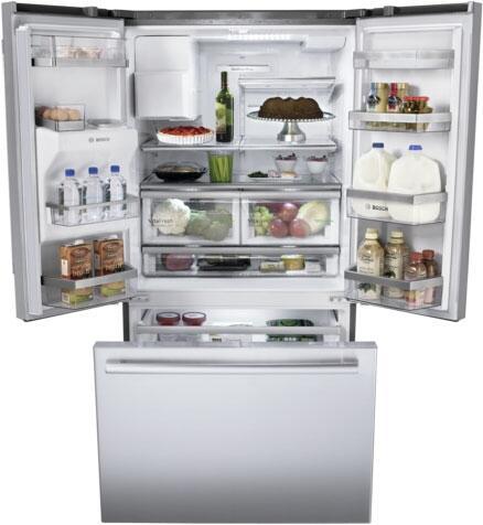 Bosch B26ft80sns French Door Refrigerator Appliances