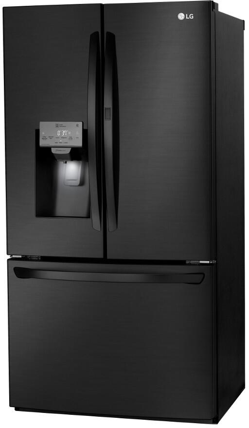 Lg Lfxs28566m 36 Inch Smart Matte Black Stainless Steel