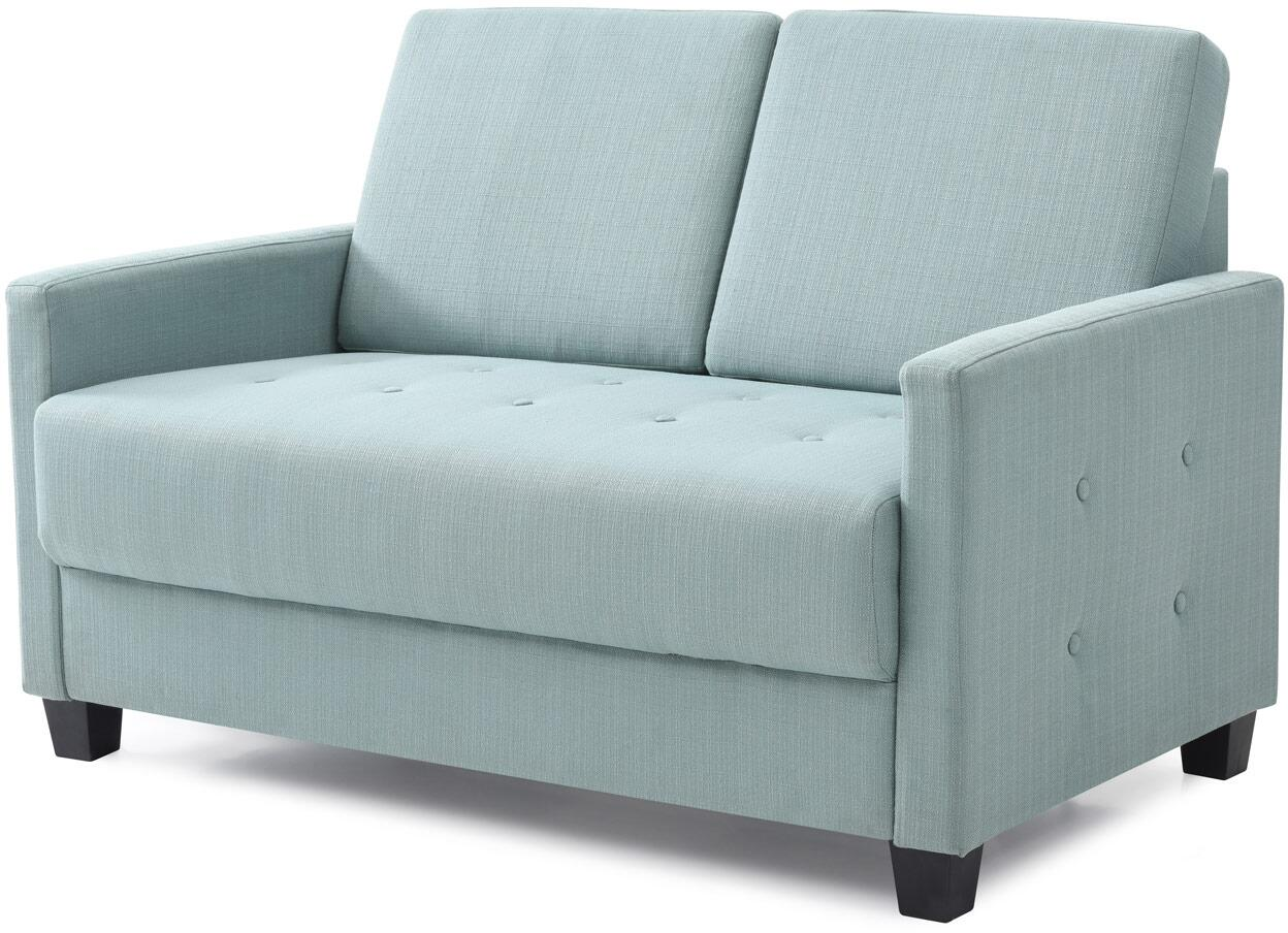 Glory Furniture G779l Dino Series Fabric Stationary Loveseat