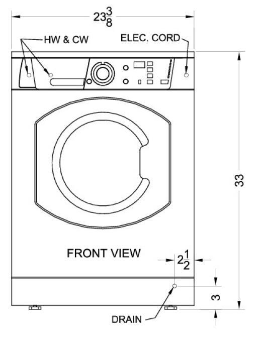 Ariston Arwdf129sna 23 63 Inch Washer Dryer Combo