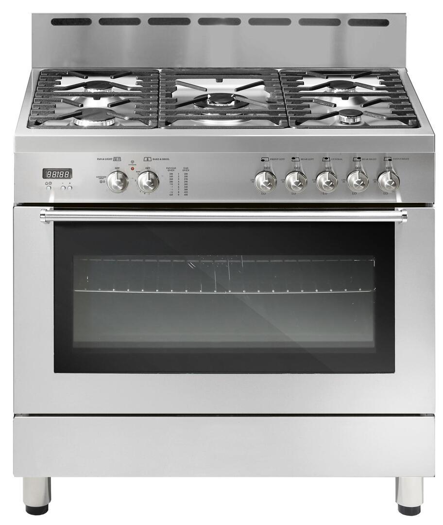 Fratelli onofri cucine a gas fratelli onofri frpn365ss gas freestanding range with - Cucine fratelli onofri ...