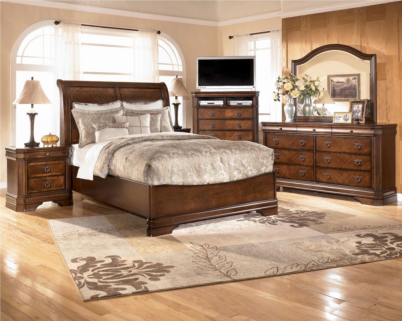 signature design by ashley b52793 hamlyn series rectangular wood night