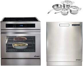 Stainless Steel 3 Piece Kitchen Package With RNR30NIFS 30