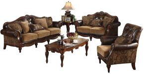 05495SLCT Dreena Sofa + Loveseat + Chair + Coffee Table +  End Table + Sofa Table