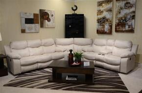 Catalina Collection 4311-1262-01/3062-01SEC 3 PC Sectional Sofa Set with Reclining Sofa + Loveseat + Wedge in Ice Color