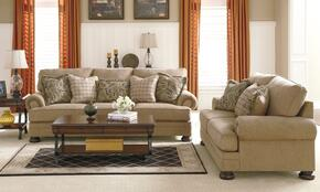 Albert Collection MI-9851SL-SAND 2-Piece Living Room Set with Sofa and Loveseat in Sand