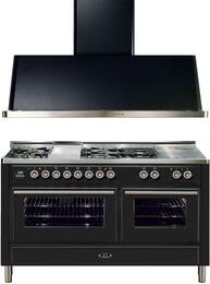2-Piece Matte Graphite Kitchen Package with UMT150FSDMPM 60