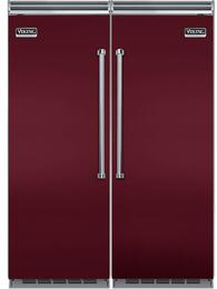 "60"" Built-In Side by Side Refrigerator/Freezer Combo with VCRB5303RBU 30"" All Refrigerator and VCFB5303LBU 30"" All Freezer"