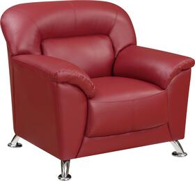 Global Furniture U9102REDCHAIR