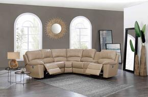 Global Furniture USA U15026GLOVETANSECTIONAL