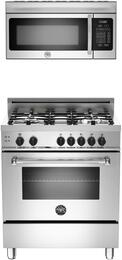 "2-Piece Stainless Steel Kitchen Package With PRO304GASXLP 30"" Professional Series Gas Freestanding Range and Free KO30PROX 30"" Professional Series Over the Range Microwave"